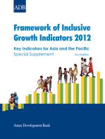 Framework of Inclusive Growth Indicators 2012