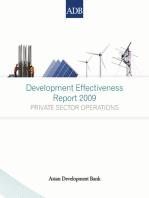 Development Effectiveness Report 2009