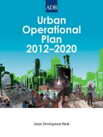 Urban Operational Plan 2012-2020