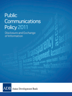 2011 Public Communications Policy (PCP) of the Asian Development Bank