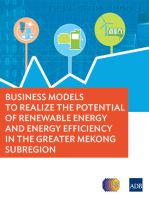 Business Models to Realize the Potential of Renewable Energy and Energy Efficiency in the Greater Mekong Subregion