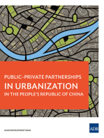Public-Private Partnerships in Urbanization in the People's Republic of China