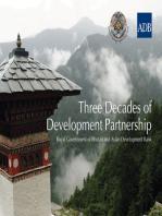 Three Decades of Development Partnership