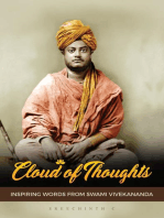 Cloud of Thoughts - Inspiring Words from Swami Vivekananda
