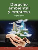 Derecho ambiental y empresa