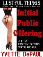 Initial Public Offering:A FFM Erotic Story with BDSM