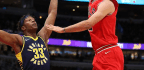 Oladipo-led Pacers cruise past Bulls, 105-87