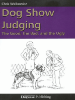 DOG SHOW JUDGING