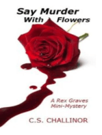 Say Murder With Flowers