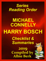 Michael Connelly's Harry Bosch Series Reading Order Updated 2019