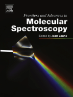 Frontiers and Advances in Molecular Spectroscopy