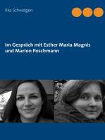 Im Gespräch mit Esther Maria Magnis und Marion Poschmann