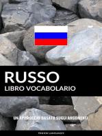 Libro Vocabolario Russo