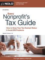 Every Nonprofit's Tax Guide