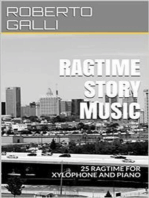 Ragtime Story Music: xylophone and piano