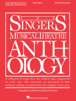 Singer's Musical Theatre Anthology - Volume 4: Baritone/Bass Book Only