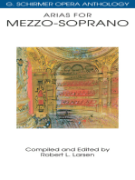 Arias for Mezzo-Soprano: G. Schirmer Opera Anthology
