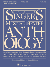 The Singer's Musical Theatre Anthology - Volume 3: Soprano Book Only