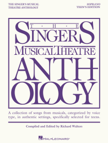 The Singer's Musical Theatre Anthology - Teen's Edition: Soprano Book Only