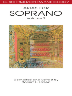 Arias for Soprano, Volume 2