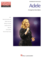 Adele - Popular Songs Series: 8 Beautiful Arrangements for Intermediate Piano Solo