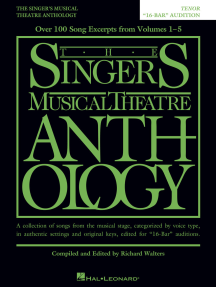 The Singer's Musical Theatre Anthology - 16-Bar Audition: Tenor Edition