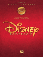 The Disney Fake Book - 4th Edition