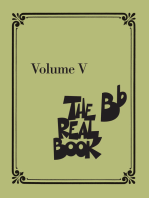 The Real Book - Volume V: B-flat Edition