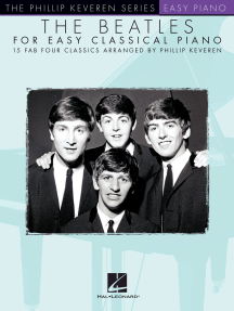 The Beatles for Easy Classical Piano: The Phillip Keveren Series
