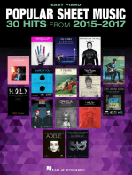 Popular  - 30 Hits from 2015-2017