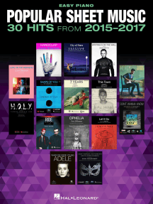 Popular Sheet Music - 30 Hits from 2015-2017