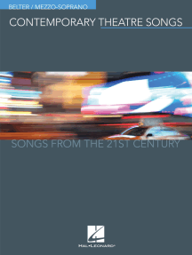 Contemporary Theatre Songs - Belter/Mezzo-Soprano: Songs from the 21st Century
