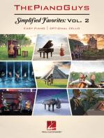 The Piano Guys - Simplified Favorites, Volume 2