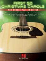 First 50 Christmas Carols You Should Play on Guitar