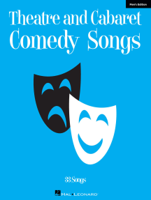 Theatre and Cabaret Comedy Songs - Men's Edition