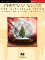 Christmas Songs for Classical Piano: 15 Seasonal Gems Arranged by Phillip Keveren