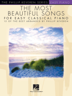 The Most Beautiful Songs for Easy Classical Piano: 15 of the Best Arranged by Phillip Keveren