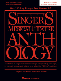 """The Singer's Musical Theatre Anthology - """"16-Bar"""" Audition: Baritone/Bass Edition"""