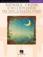 Songs from Childhood for Easy Classical Piano