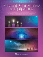 Piano Solos for Advent, Christmas & Epiphany