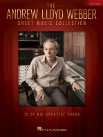 The Andrew Lloyd Webber  Collection for Easy Piano