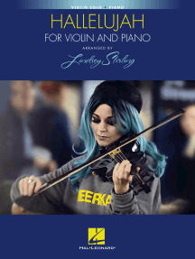 Hallelujah: Arranged by Lindsey Stirling for Violin and Piano