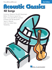 Acoustic Classics - 2nd Edition: 42 Songs