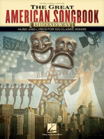 The Great American Songbook - Broadway