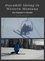 Downhill Skiing in Western Montana