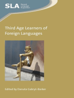 Third Age Learners of Foreign Languages