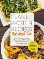 Plant-Protein Recipes That You'll Love