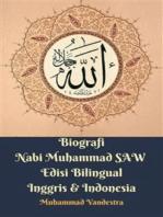 Biografi Nabi Muhammad SAW Edisi Bilingual Inggris & Indonesia