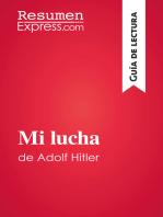 Mi lucha de Adolf Hitler (Guía de lectura)