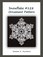 Snowflake #128 Ornament Pattern